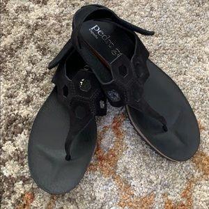 Pedro Garcia Suede Sandal Size 37 1/2